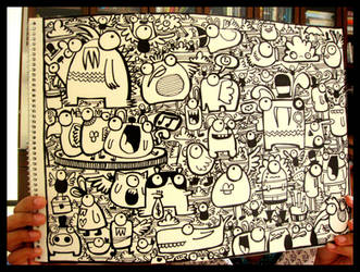 Doodle- marker madness by dingbat23