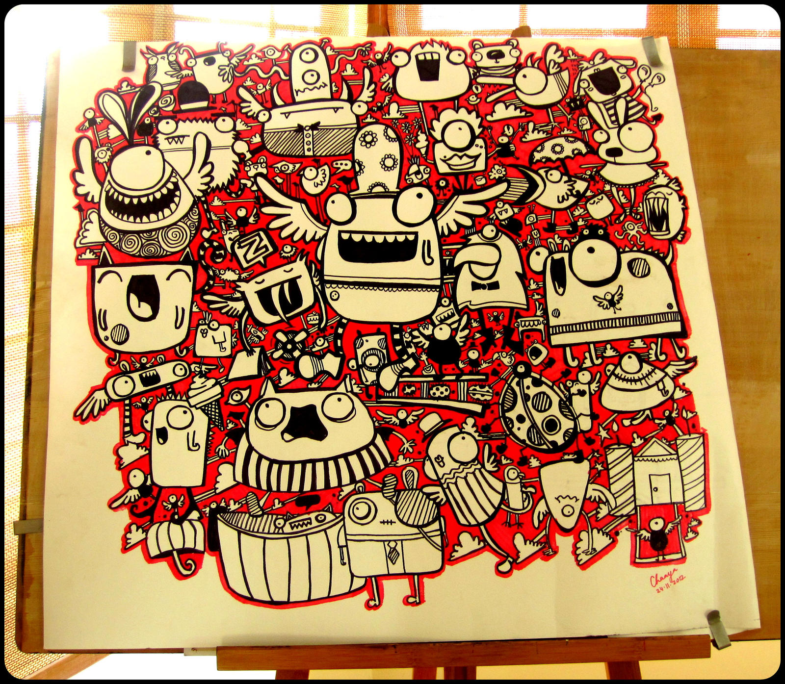 Big Doodle by dingbat23