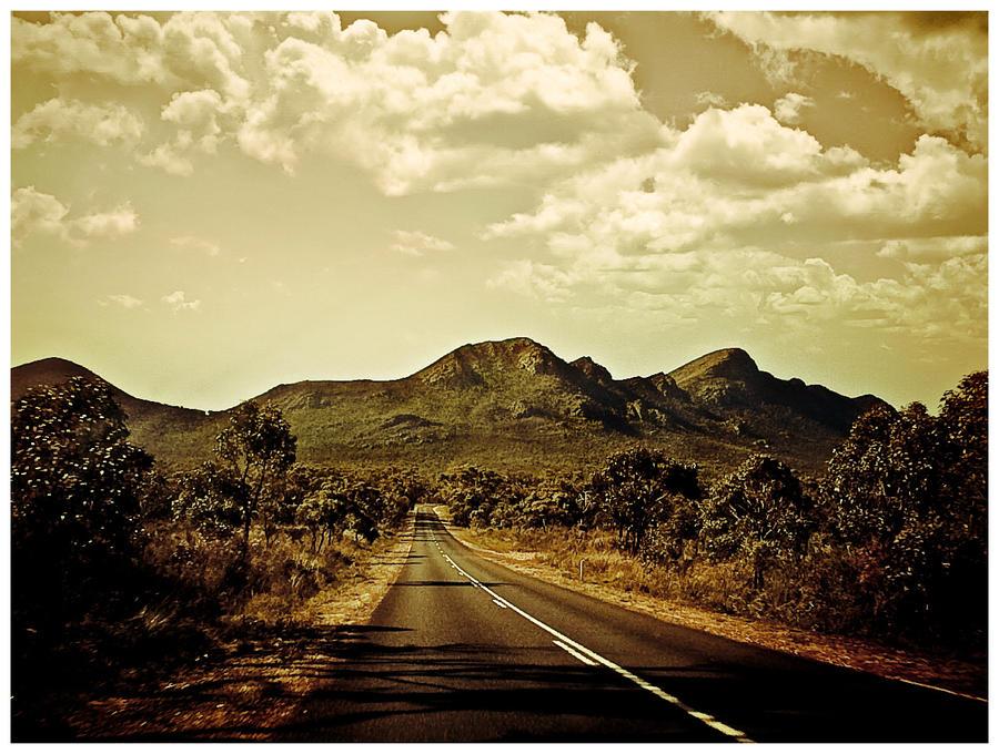 Roads and mountains by thomasdelonge