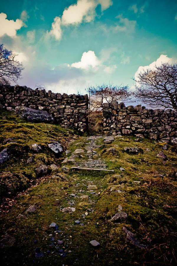 A new road or a secret gate by thomasdelonge