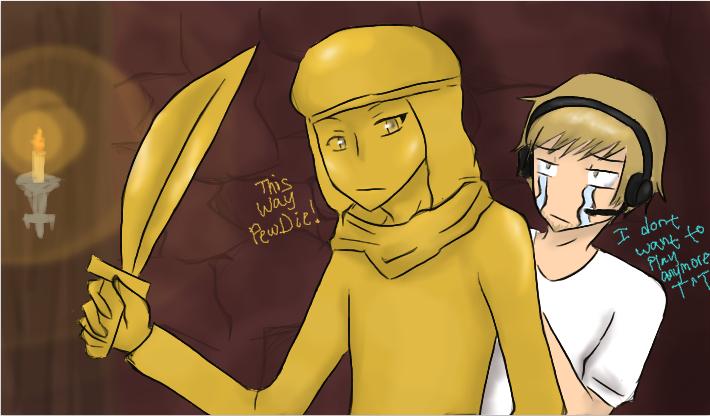 -PewDiePie and Stephano- This way Pewdie by Devilish-Mango ...