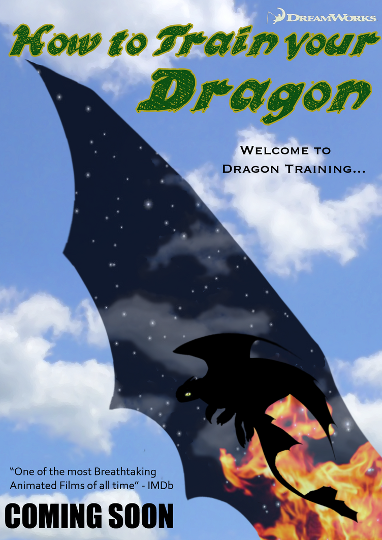 How To Train Your Dragon Imagined Poster 1 By Nahterpie
