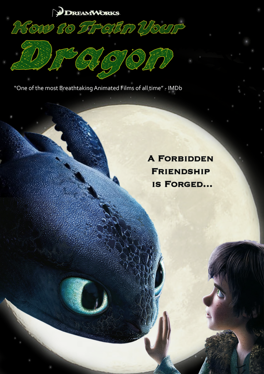 How To Train Your Dragon Imagined Poster 2 By Nahterpie