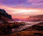 Blushing Skies by Emerald-Depths