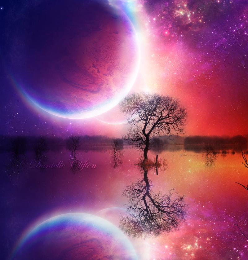 Celestial Rainbow by Emerald-Depths