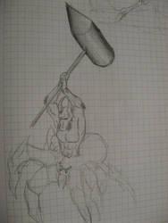 Arachnetaur by SomaCruzFirm