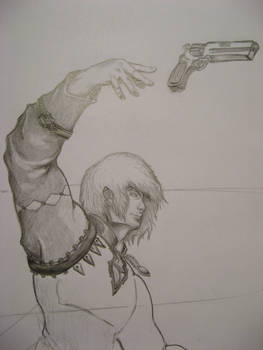 Dude with Pistol -in process-