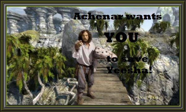 Achenar wants you