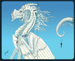 MoleSkine Dragon by sighthoundlady