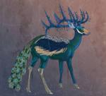 Peacock Doe