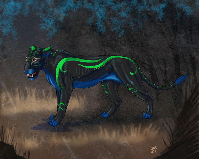 Herla Lioness by sighthoundlady