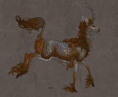 Kirin by sighthoundlady