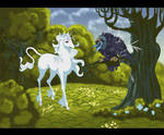 The Last Unicorn Fan Art