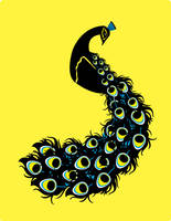 peacock by go-bananas