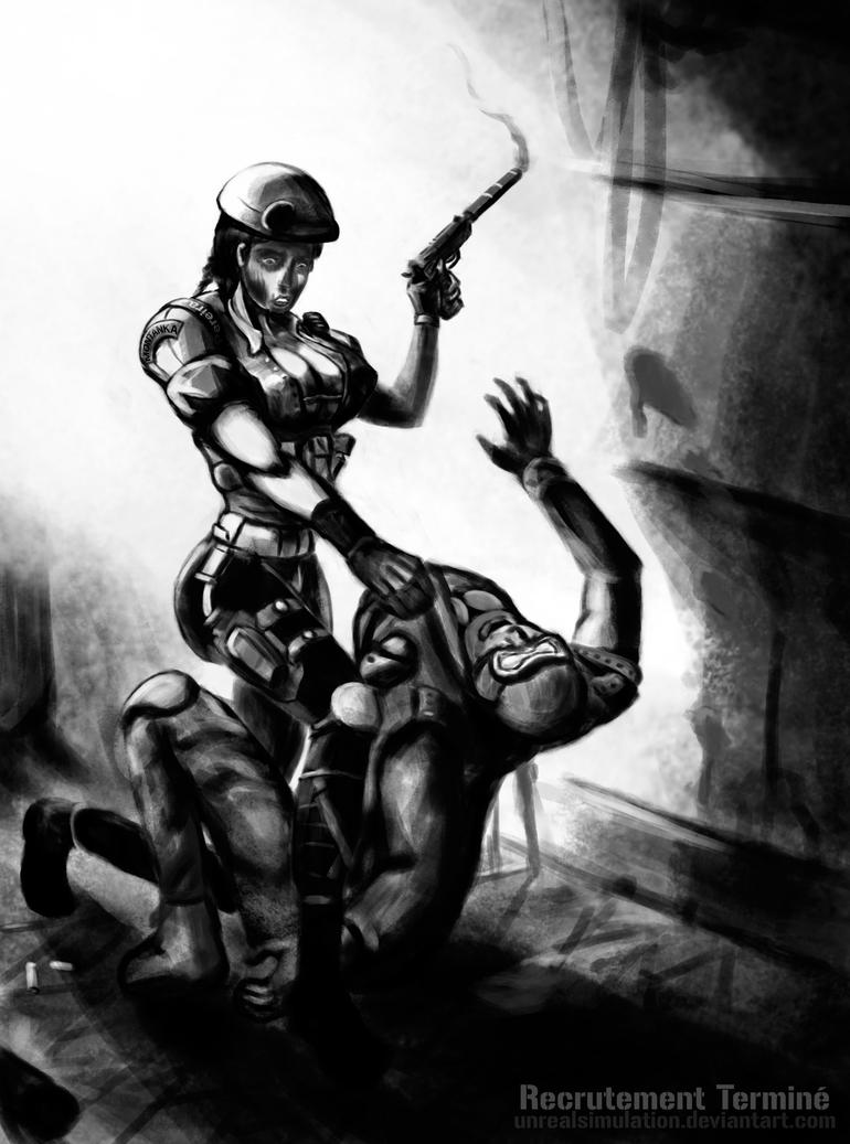 Rainbow 6 Siege : Caveira (Recrutement Termine) by UnrealSimulation