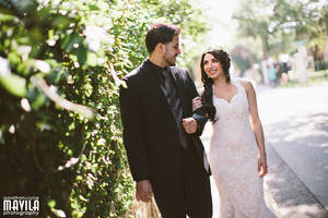 amabel and bens wedding at casa monica