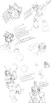 Old Mega Man Doodles (Pt. 1)