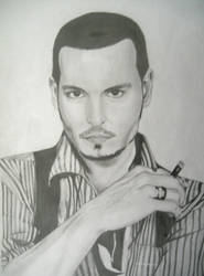 Johnny Depp by Alfuss