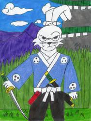 Usagi Yojimbo by TheZackBurg