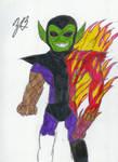 DSC Super-Skrull by TheGreatBurg