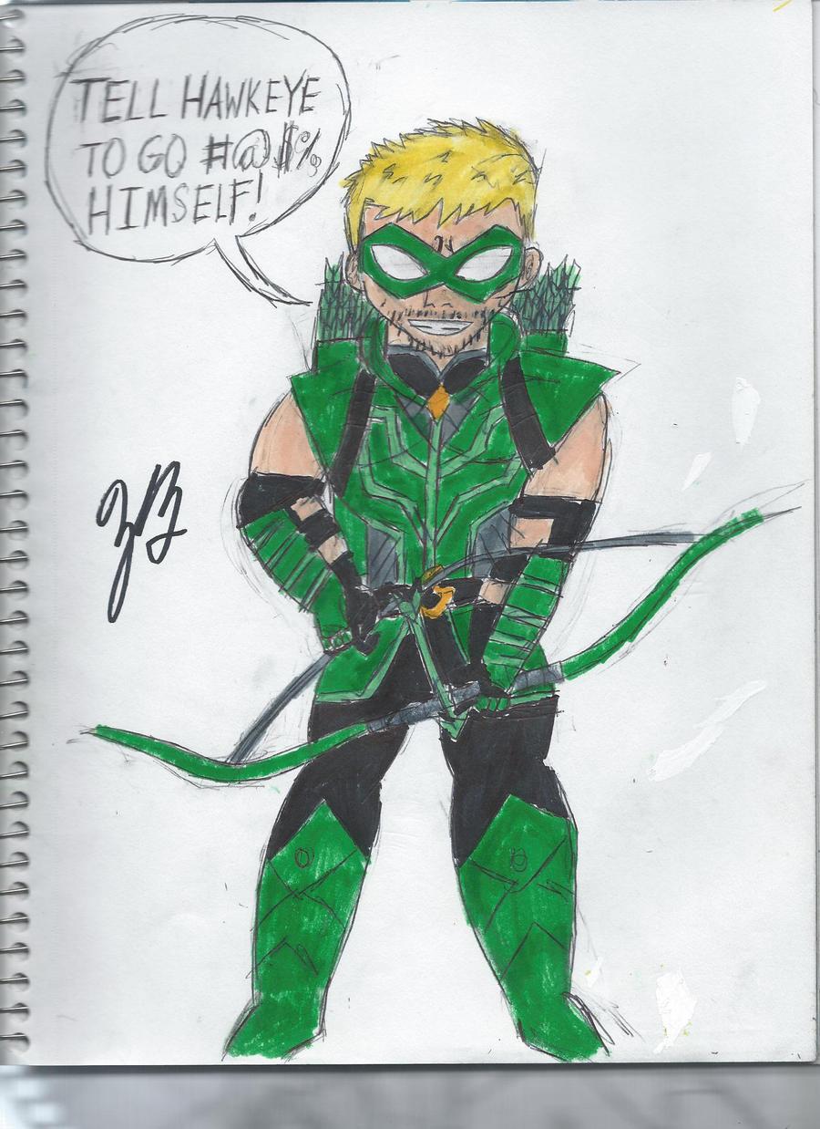 DC 52 Green Arrow by GoroKai