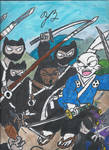 Usagi Yojimbo Vol 2 #1 tribute by TheZackBurg