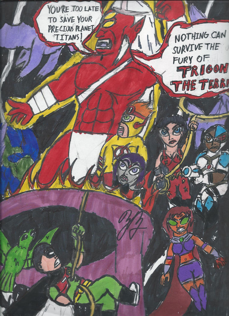 Tribute teen titans dirty