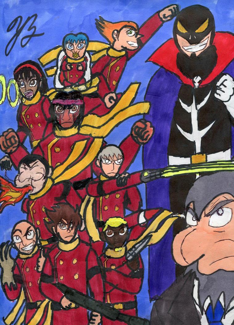 The Cyborg Warriors by GoroKai