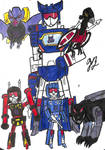 Soundwave and his Minions by TheGreatBurg
