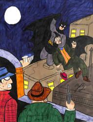 The Night of the Bat-Man by TheZackBurg