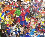 The Marvel Universe by TheGreatBurg