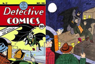 Detective Comics #27 tribute by TheZackBurg