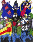 The New Teen Titans by TheZackBurg