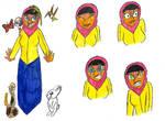 Bahiya Ansari Fluttershy by TheGreatBurg