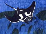 Manta Ray by TheGreatBurg