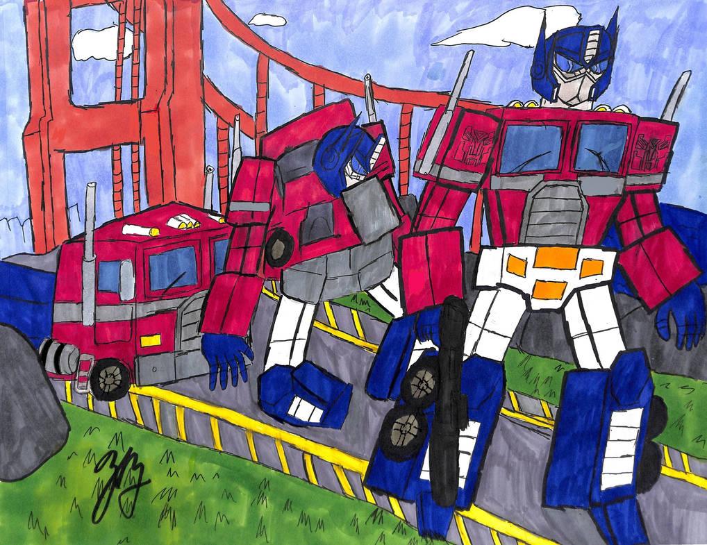 Optimus Prime's Transformation