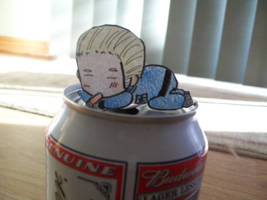 Paper Child- Germany- Beer Can by Autoblazer