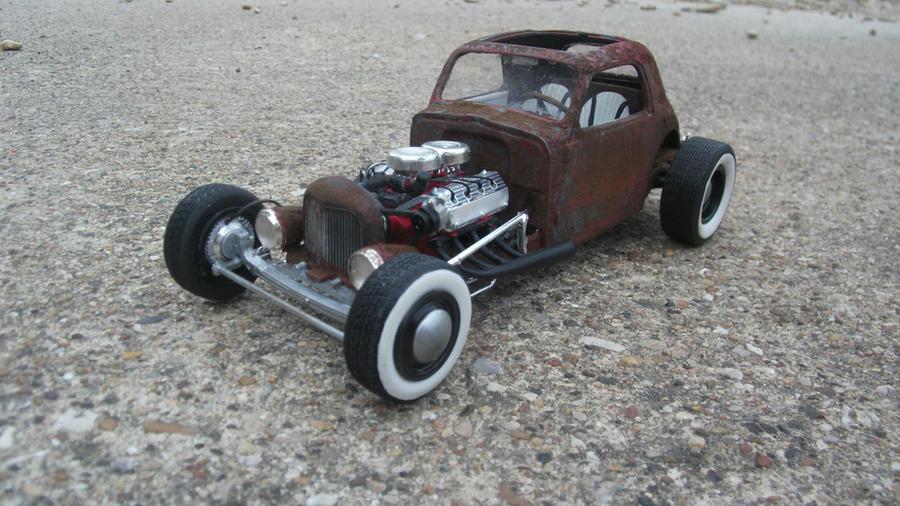 Fiat Rat Rod By Vash68 On Deviantart