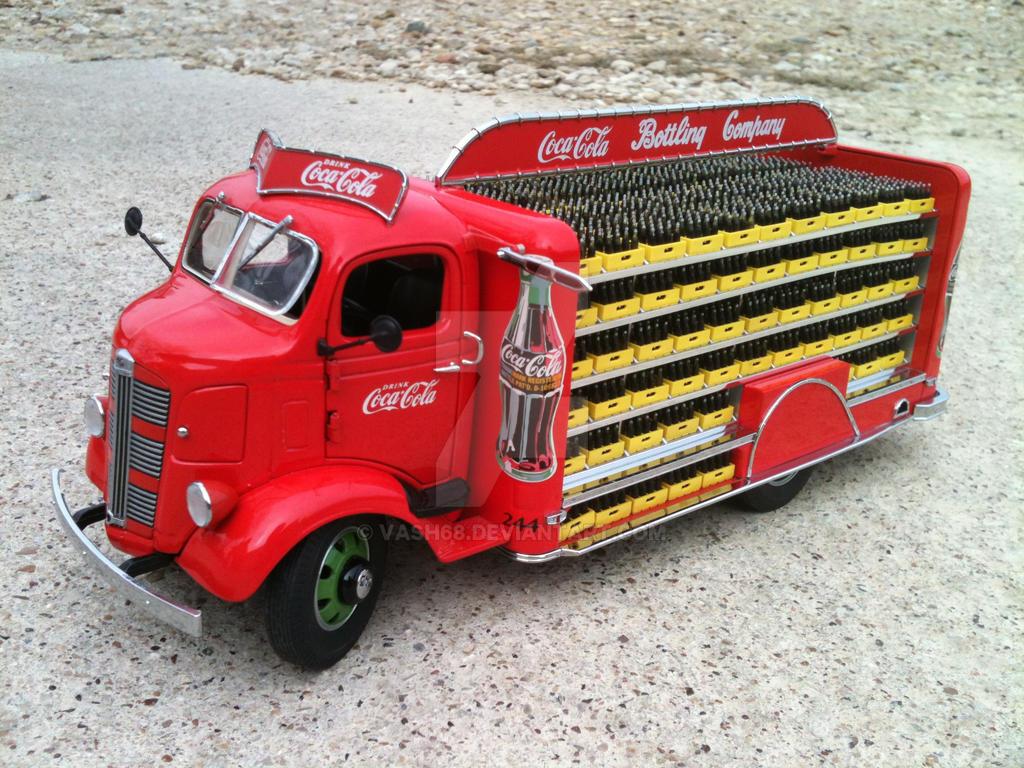 Loaded 1938 Gmc Coe Coke Truck By Vash68 On Deviantart