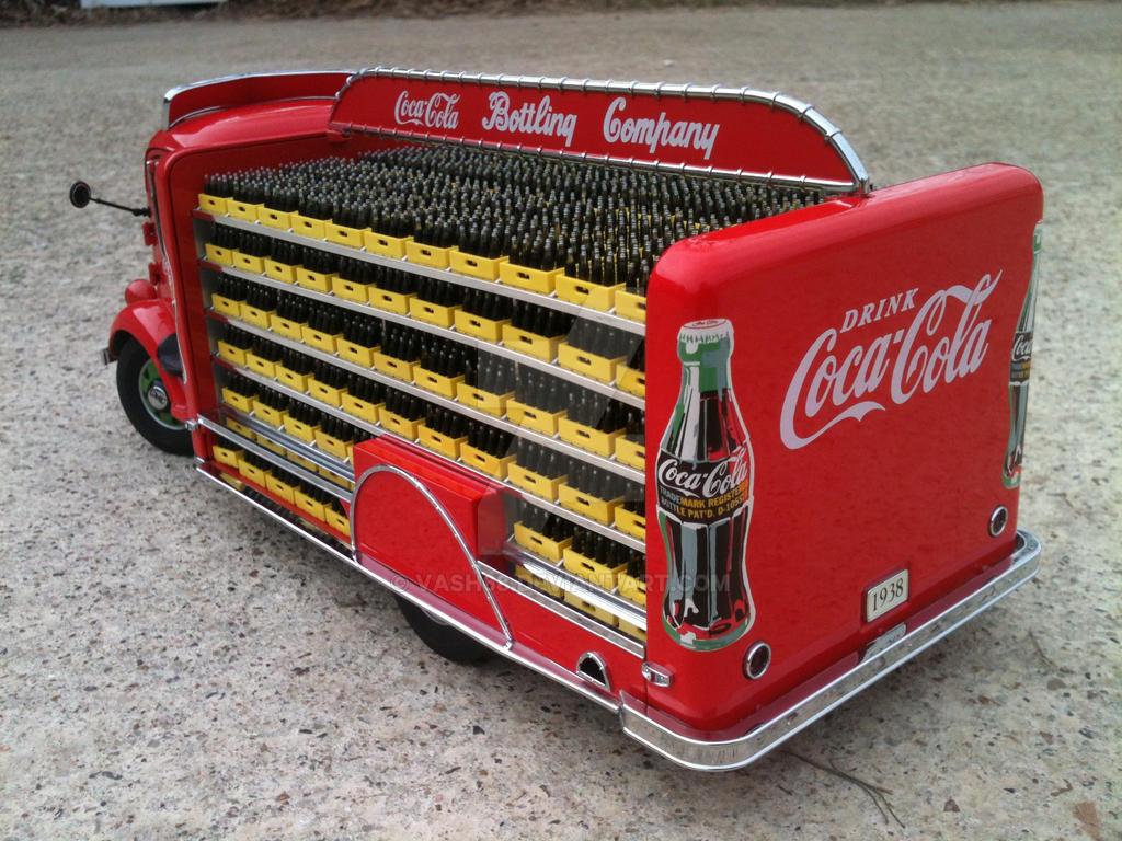 Loaded 1938 Gmc Coe Coke Truck Rear By Vash68 On Deviantart