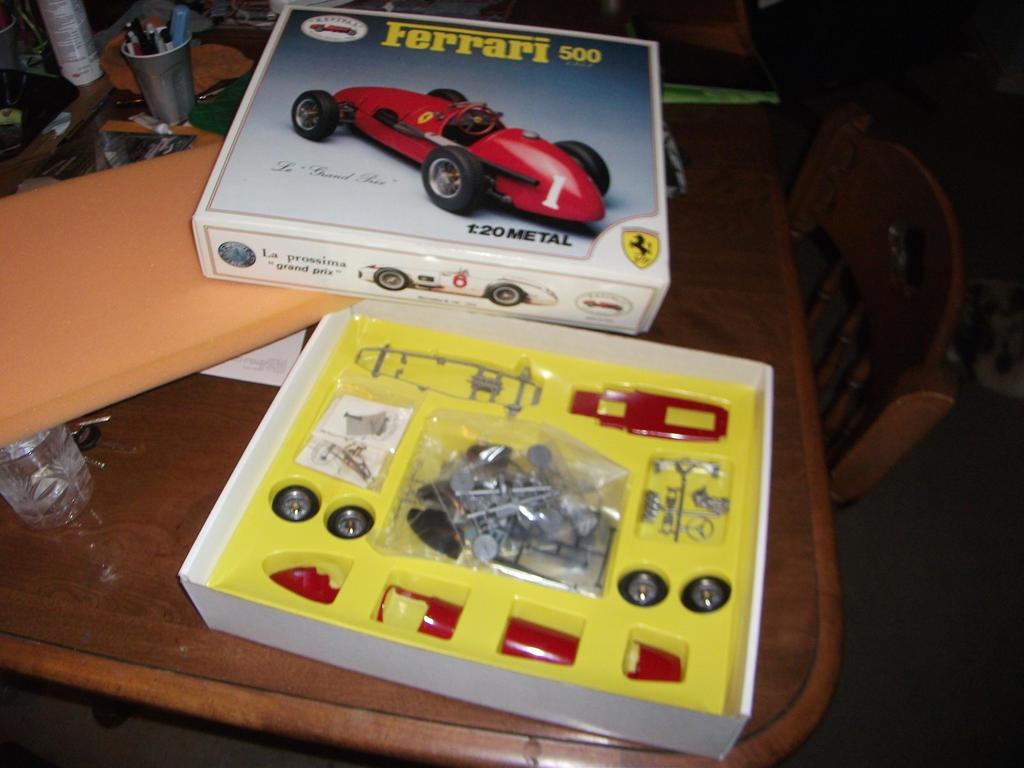 Metal Revival Ferrari 500 kit by vash68