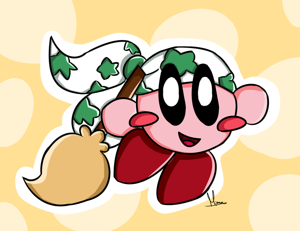 Broom Kirby by FaithCreates