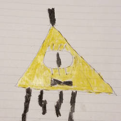 bill chipher (my first drawing) by ultimatecyborg900