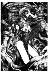 Vampire Lady by harveytsketchbook