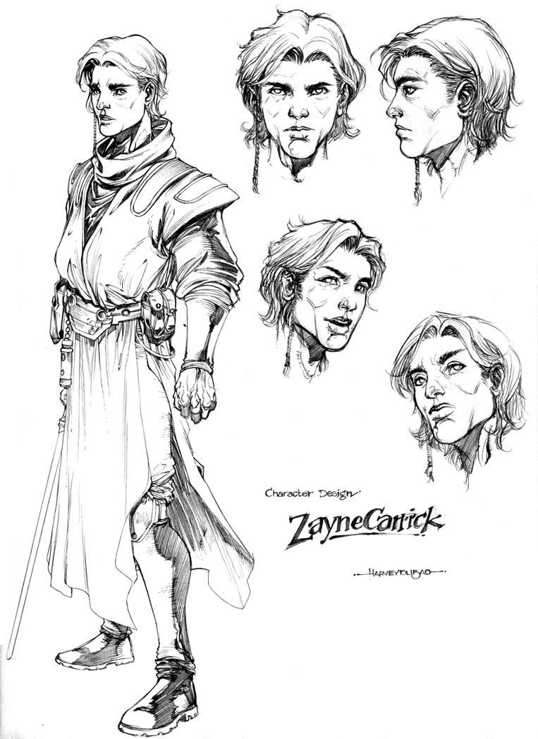 Character Design Zayne by harveytsketchbook
