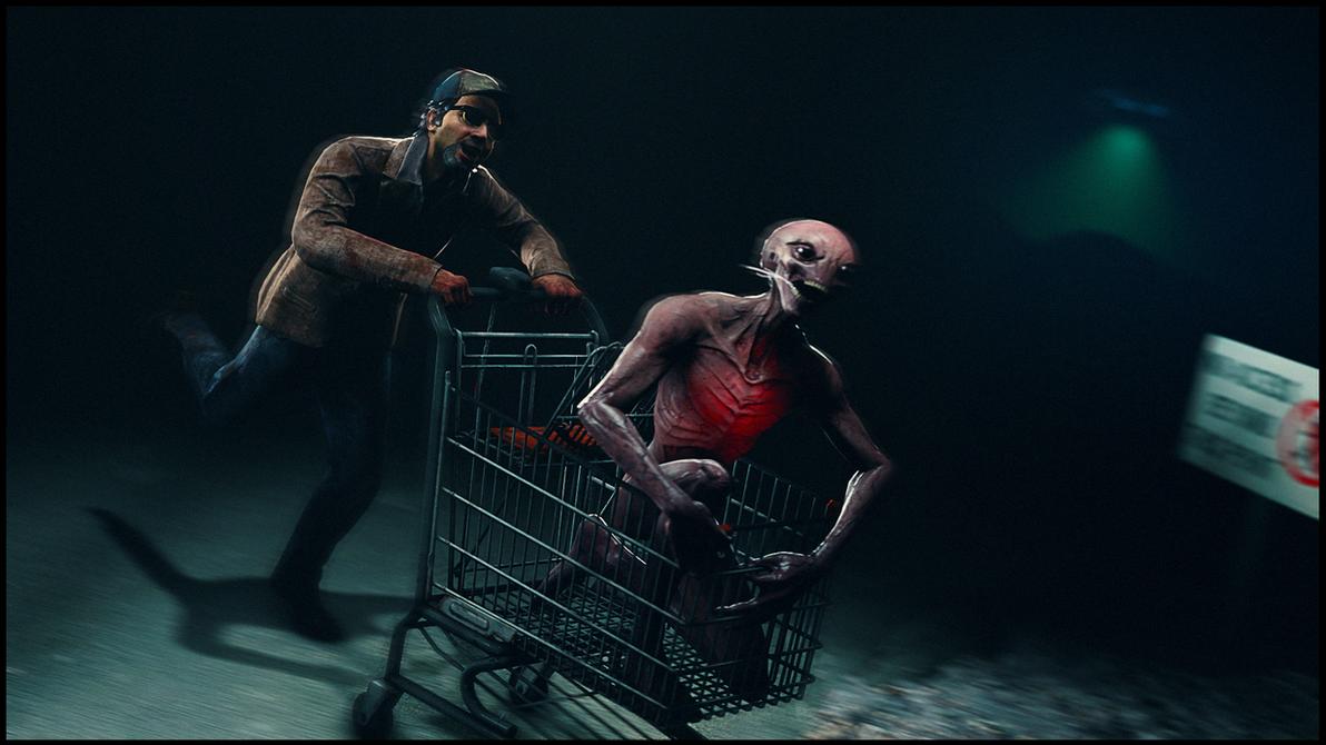 Alien Abduction by Boznean