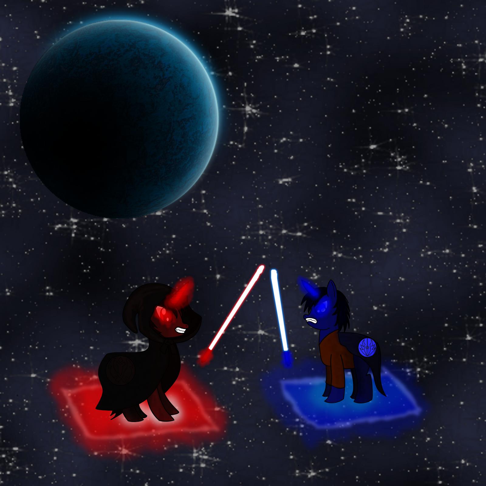 The Last Jedi Pony by mmadhu94