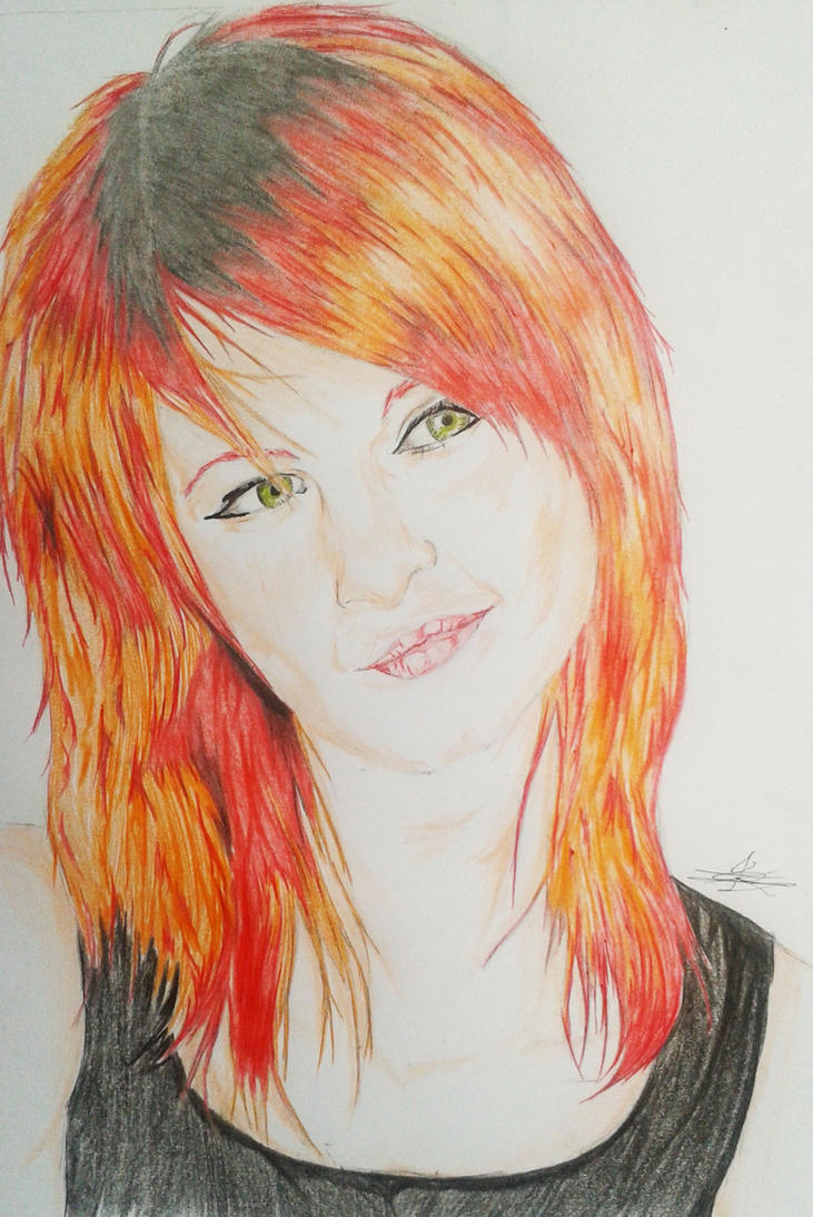 Hayley Williams - Paramore by Kuronzer