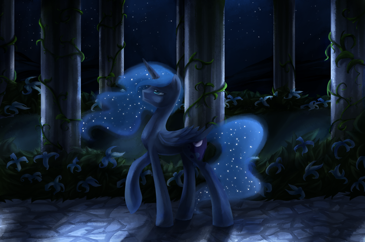 Midnight Stroll by Aurarrius