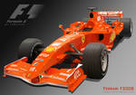 Ferrari F2008 Formula 1 car
